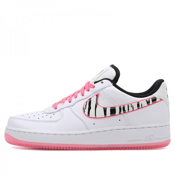 Nike Air Force 1 '07 QS (Blanche/Noir/Multi) CW3919-100