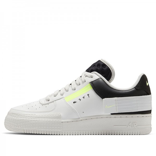 Nike Air Force 1-Type (Blanche/Barely Volt) CK6923-100