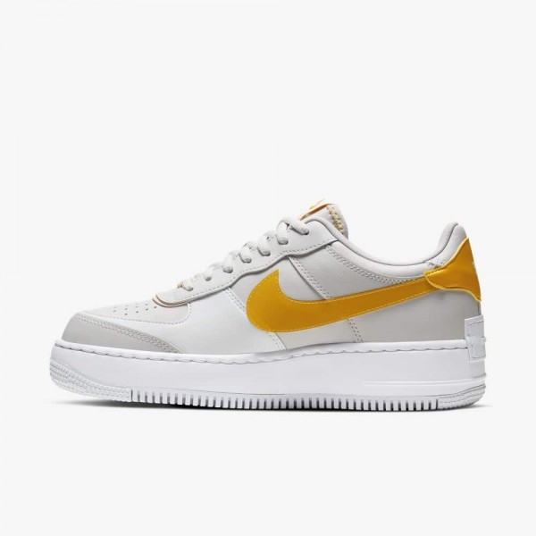 Nike Air Force 1 Shadow SE (Grise/Pollen Rise/Washed Coral) CQ9503-001