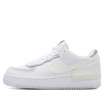 Nike Femme Air Force 1 Shadow (Blanche/Stone/Rose) CZ8107-100