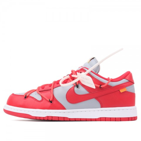Nike Dunk Low LTHR OW (Rouge/Grise) CT0856-600