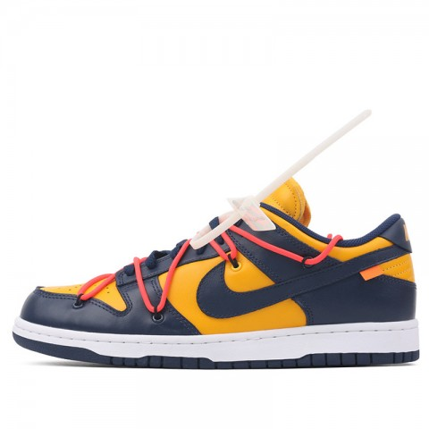 Nike Dunk Low LTHR OW (Or/Midnight Navy) CT0856-700