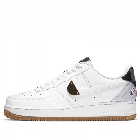 Nike Air Force 1 '07 LV8 (Blanche/Pure Platinum/Rouge) CT2298-100