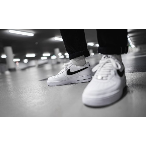 Nike Air Force 1 '07 AN20 (Blanche/Noir) CJ0952-100