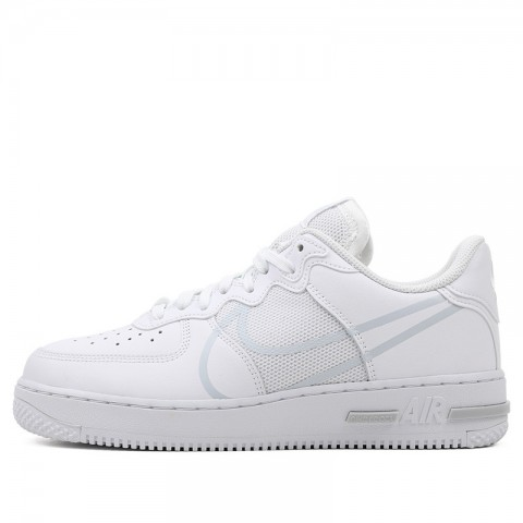 Nike Air Force 1 React D/MS/X (Blanche/Pure Platinum) CT1020-101