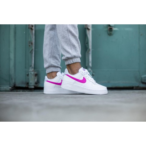 Nike Femme Air Force 1 '07 (Blanche/Rose) CT4328-101