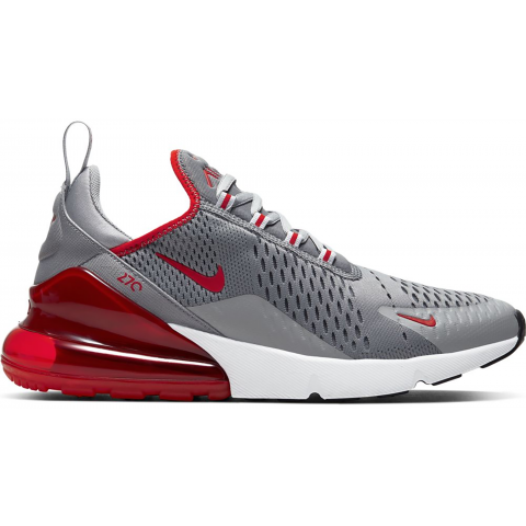 Homme Nike Air Max 270 (Grise/Rouge) CW7048-001