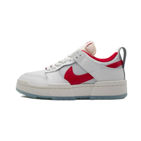 Nike Dunk Low Disrupt (Blanche/Rouge) CK6654-101