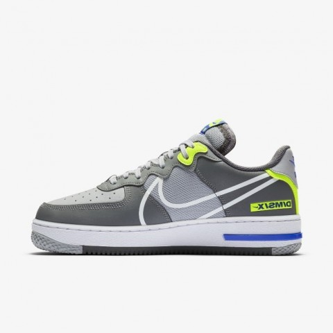 Nike Air Force 1 React D/MS/X (Grise/Blanche) CD4366-002