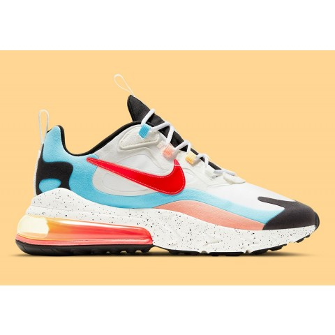 """Nike Air Max 270 """"The Future is in the Air"""" (Blanche/Infrared) DD8498-161"""