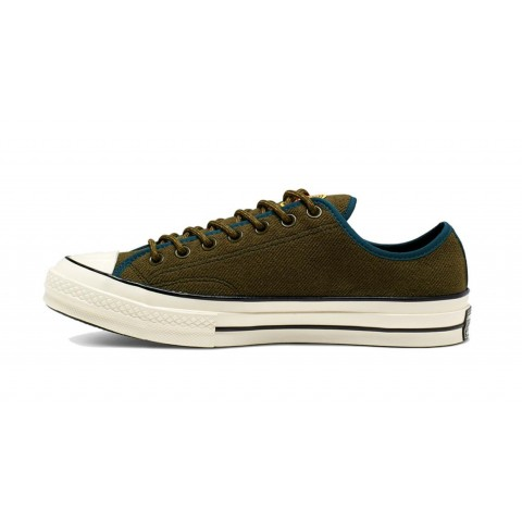 Converse Chuck 70 Archival Terry Ox (Surplus Olive/Turquoise) 165929C