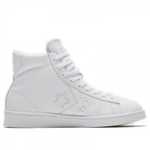 Converse Pro Leather OG High (Blanche/Blanche) 166810C